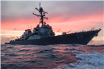 guided-missile destroyer USS John S. McCain c
