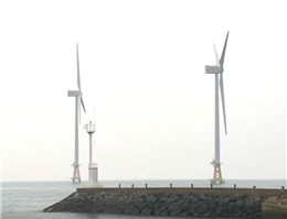 کره جنوبی مزرعه بادی می سازد