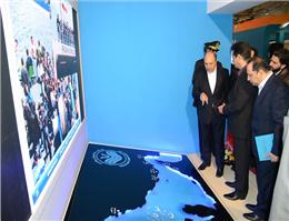 گزارش تصویری بازدید مدیر عامل کشتیرانی از دهمین نمایشگاه گردشگری