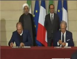 امضاء تفاهم نامه همکاری میان کشتیرانی ایران و فرانسه