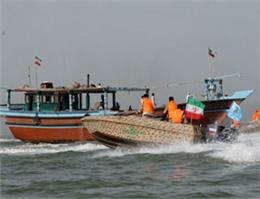 توقیف شناور حامل کالای قاچاق در آبهای ماهشهر