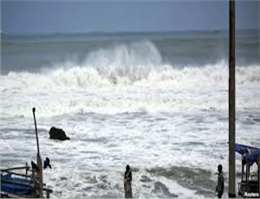 خلیج فارس از امروز مواج و طوفانی است
