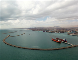 پیشرفت97 درصدی طرح توسعه تأسیسات زیربنایی بندر خلیجفارس